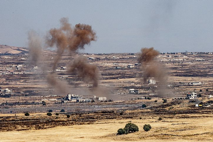 IDF strikes Syrian targets in retaliatory attack