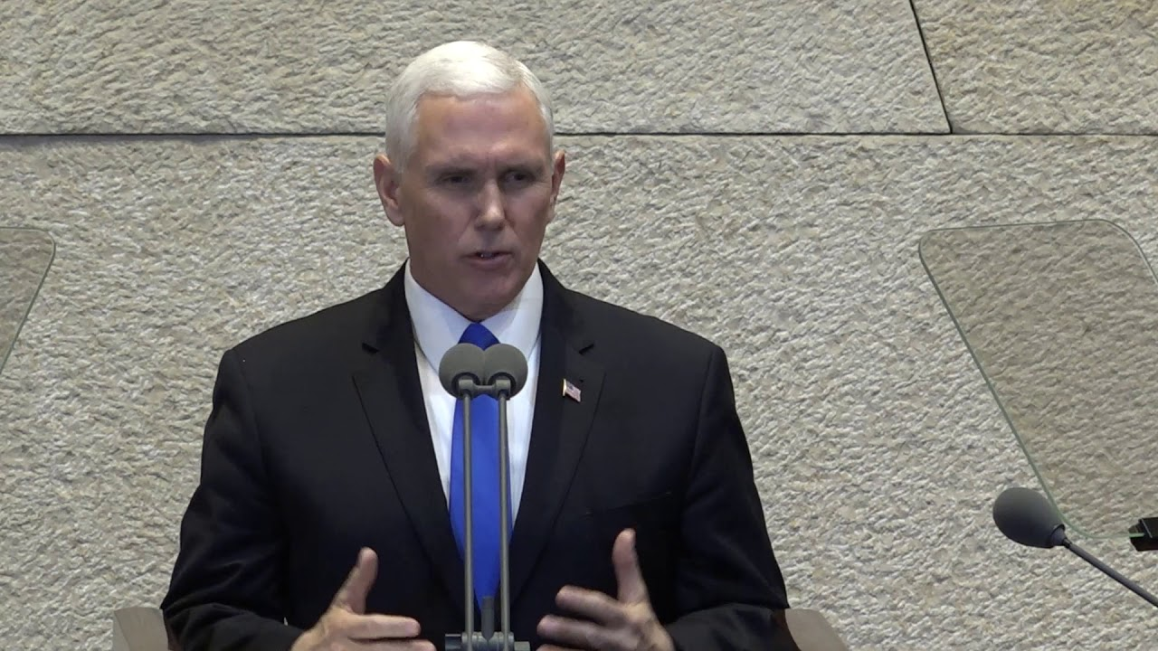 Pence calls Jerusalem 'Israel's capital' on visit with Netanyahu