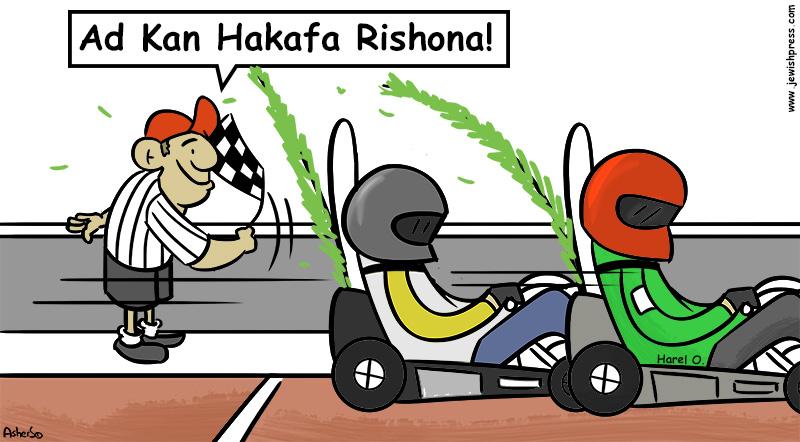 simchat torah Hakafa Rishona