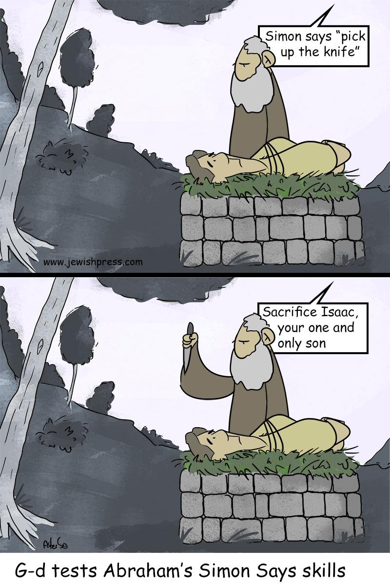 simon says Abraham