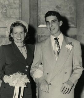 Nelda and Victor Rousso, on the start of their journey through life.