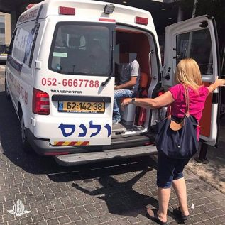 Transfer of three-year-old boy abroad from Palestinian Authority for liver transplant, via Israel, with assistance from COGAT Health Coordinator Dalia Bassa